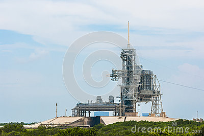 Launch pad 39 A Editorial Stock Photo