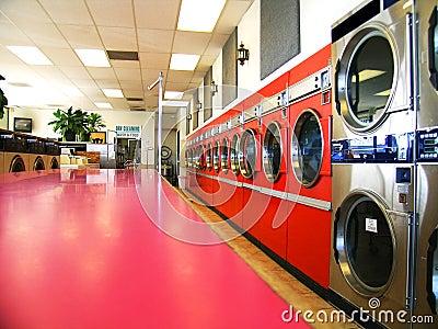Laundromat Retro