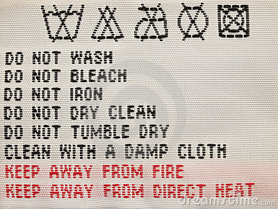 Laundry advice