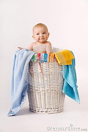 Laundry Basket Baby