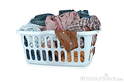 Laundry basket (Clip Path)