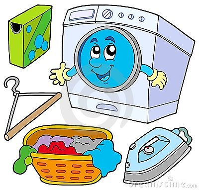 Free Laundry Collection Stock Image - 12186321