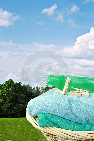 Free Laundry Day Royalty Free Stock Image - 13550346