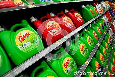Laundry Detergent Editorial Photo