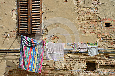 Laundry in the old city