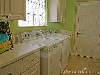 Laundry Room Stock Images - Image: 1266664