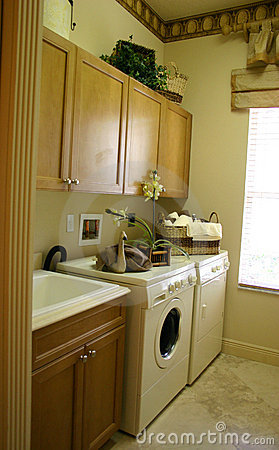 Free Laundry Room Stock Image - 867861
