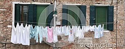 Laundry of Venice