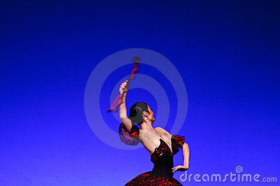 Laura Blica Toader performing Editorial Stock Image