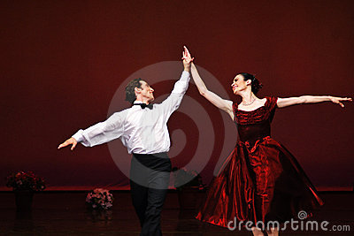 Laura Blica Toader and Vlad Toader performing Editorial Photo