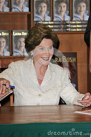 Laura Bush Editorial Image