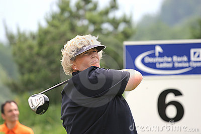 Laura Davies, Losone 2007, Golf Ladies european Editorial Image