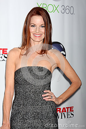 Laura Leighton arrives at the  Editorial Stock Photo