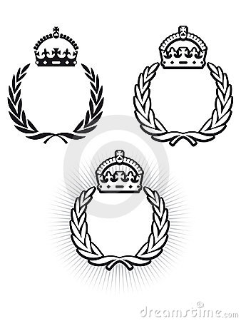 Free Laurel Crown Stock Photography - 13696342