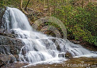 Laurel Falls in Smoky Mountains
