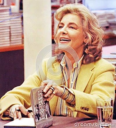Lauren Bacall Editorial Stock Image