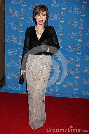Lauren Koslow arrives at the 2012 Daytime Creative Emmy Awards Editorial Stock Image