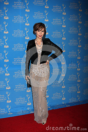 Lauren Koslow arrives at the 2012 Daytime Creative Emmy Awards Editorial Stock Photo