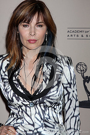 Lauren Koslow arrives at the ATAS Daytime Emmy Awards Nominees Reception Editorial Stock Photo