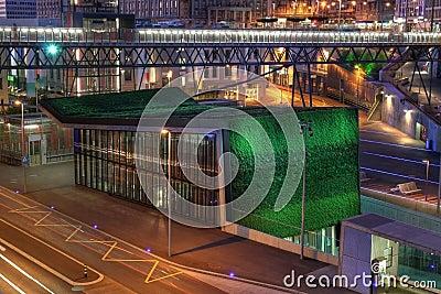 Lausanne-Flon M2 Metro station, Switzerland