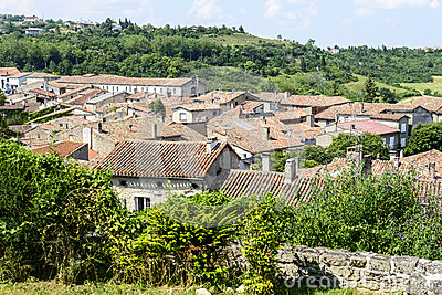 Lautrec (France), old village