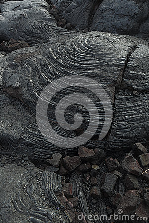 Free Lava Details From Hawaii Stock Photography - 32601722