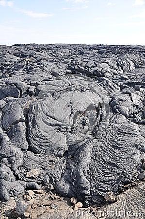 Lava field, Big Island, Hawaii