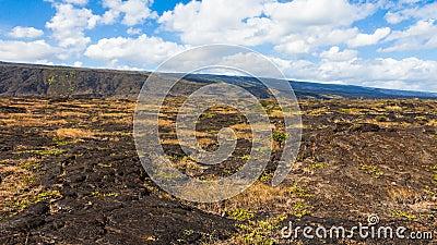 Lava Fields Panorama