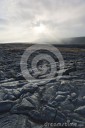 Free Lava Flows On The Big Island Of Hawaii Royalty Free Stock Photography - 32602007