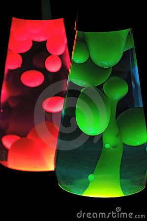 Free Lava Lamps Royalty Free Stock Image - 8970156