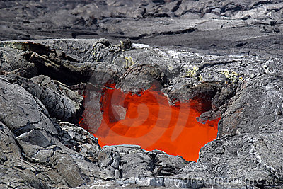 Lava Skylight - Hawaii Volcanoes National Park