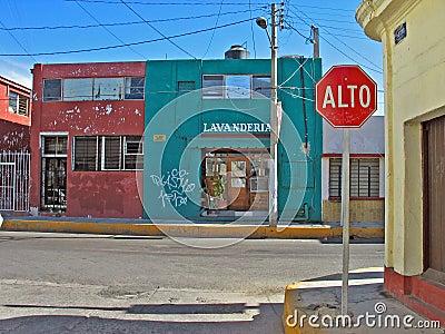 Lavanderia in Mazatlan, Mexico