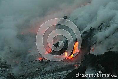 Lave flow 4