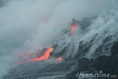 Lave flow 6