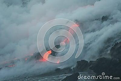 Lave flow 7