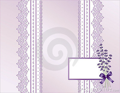 Lavender & Antique Lace Present