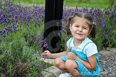 Lavender Baby Girl