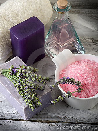 Lavender and  bath product