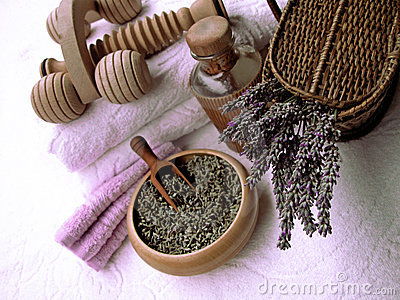 Lavender composition beauty and body care products