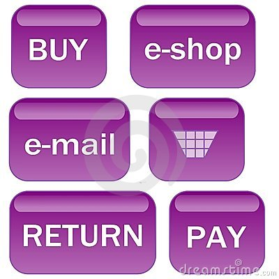Lavender e-shop icons