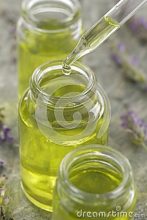 Free Lavender Essential Oil - Symbol Royalty Free Stock Photo - 34447495