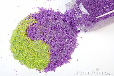 Lavender and green tea sea salt