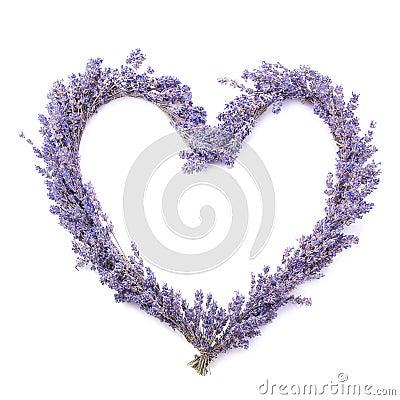 Free Lavender Heart Stock Photos - 7312373