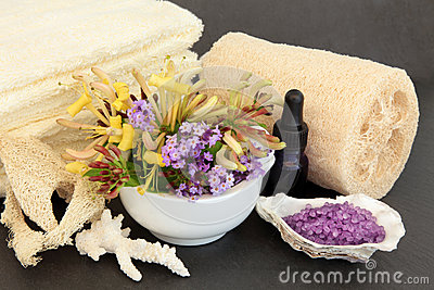Lavender and Honeysuckle Spa