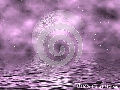 Lavender Moon & Water