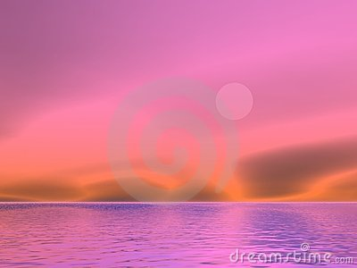 Lavender Moonrise