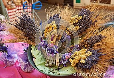 Lavender at Provence market