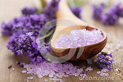 Lavender salt for spa