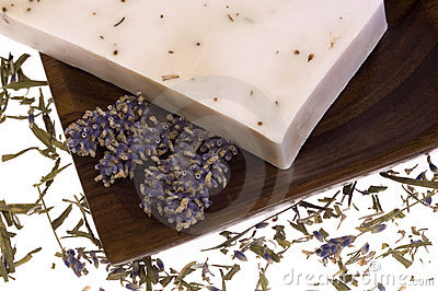 Lavender soap. spa