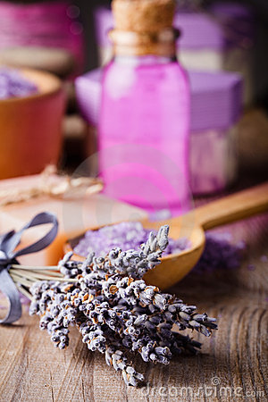 Free Lavender Spa Stock Images - 20815214